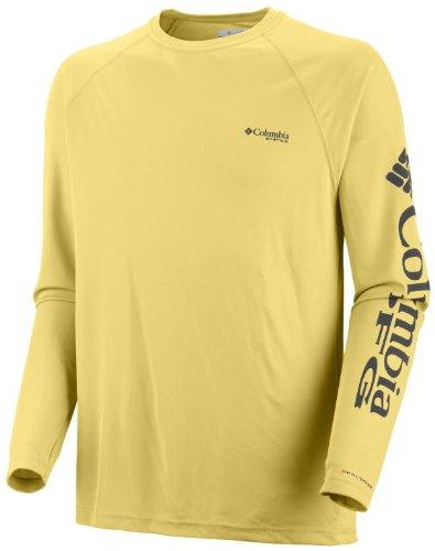 Columbia FM6094 de Sport Men's Teminal Tackle LS Sunlit/PFG Logo Taille L