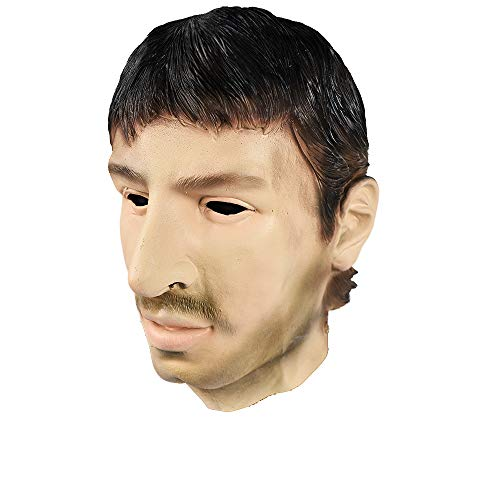 Latex Realistic Male Head Masks Human Look Halloween Cosplay Costumes