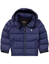 Baby Boy Quilted Ripstop Down Jacket 6 M French Navy