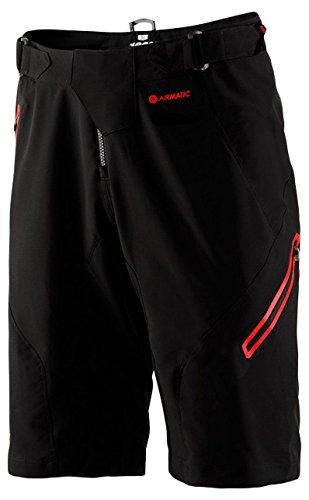 Inconnu 100% Shorts Airmatic (mit Chamois) Herren, Schwarz, FR  L (Hersteller Größe  34)
