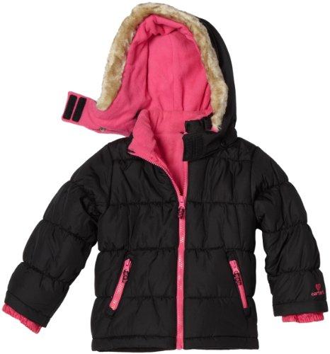 Carter's Little Girls'  all-weather Heavyweight Single Jacket
