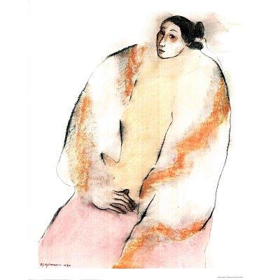 R.C. Gorman Rosa Art Poster Print