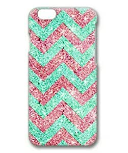 iphone 5 5s Case, Red and Green Chevron Pattern Case for iphone 5 5s 3D PC Material