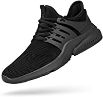 Feetmat Mens Running Tennis Work Shoes Slip On Resistant Sneakers Lightweight Breathable Athletic Fashion Zapatos Gym...