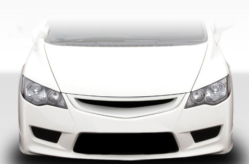 Duraflex Replacement for 2006-2011 Honda Civic 4DR JDM Type R Conversion Hood - 1 Piece ()