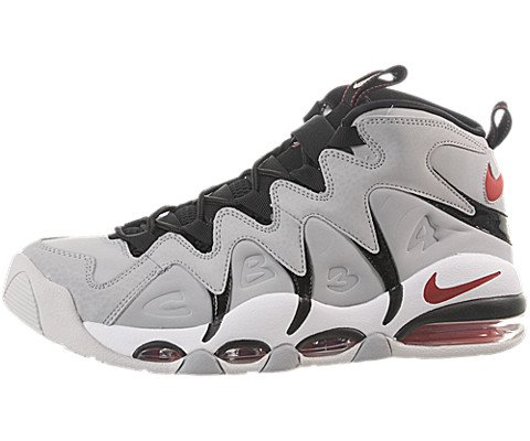 Nike Mens Air Max Cb34 Wolf Grey Varsity Red Ntrl Gry White Basketball Shoe 8 5 Men Us