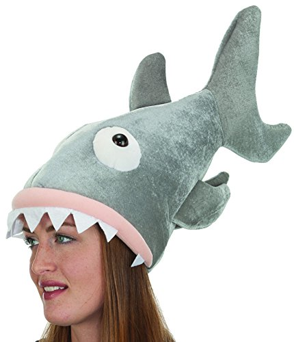 Jacobson Hat Company Shark Hat - http://coolthings.us