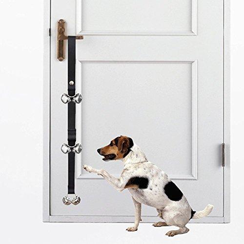 Biowow Dog Doorbell for Dog Training 85cm Housetraining Potty Bells Housebreaking Tinkle Bells Black For Sale