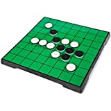 CISMARK Reversi Game Set with Magnetic Folding Board 10 X 10 Inches