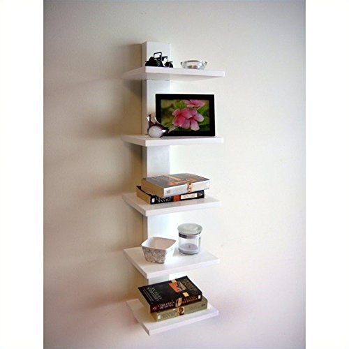 Proman Products WM16566 Spine Book Shelf ()