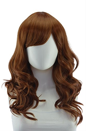 Epic Cosplay Hestia Light Brown Curly Wig 22