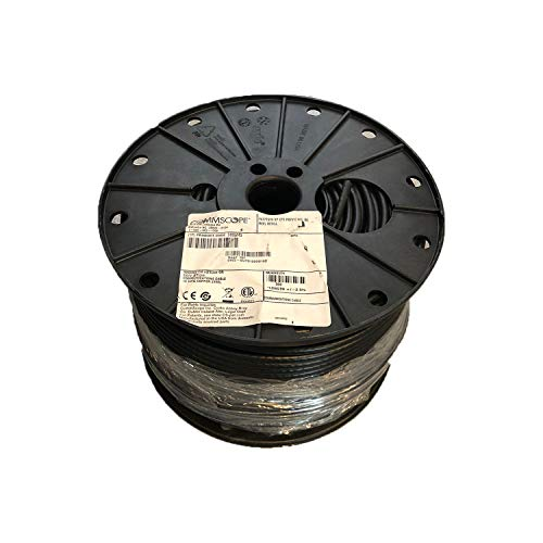 (500' Reel Spool COMMSCOPE F677TSVV Black RG6 Single Cable Coax COAXIAL Satellite )