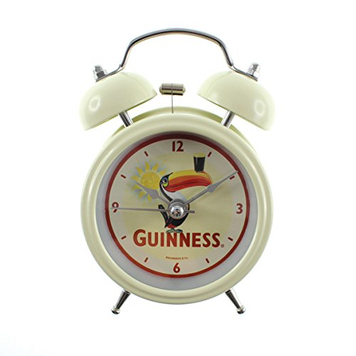 - Guinness Twin Bell Alarm Clock With Toucan And Bright Sun Background