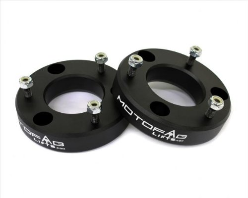 MotoFab Lifts F150-2 - 2 in Front Leveling Lift Kit That is compatible with F150 (F150 2wd Lift Kit)