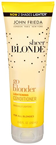 Price comparison product image John Frieda Sheer Blonde Go Blonder Lightening Conditioner, 8.45 Fluid Ounce (Pack of 2)
