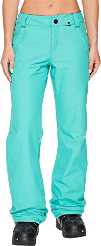 Volcom Snowboarding Pants (Volcom Snow Women's Frochickie Insulated Pants Teal Green X-Large)
