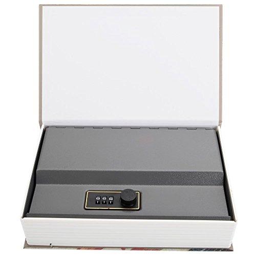 Diversion Book Safe, Dictionary Secret Cash Safe Box with Combination Lock, Diversion Book Hidden Safe (66 Style-Code, M) by Bseash (Image #3)