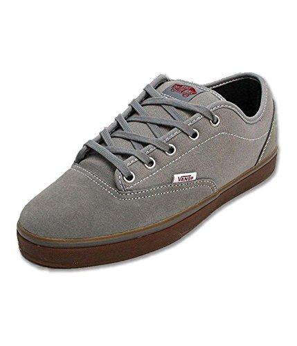 Vans Av Era 1.5 Mid Grey/Gum Mens Skateboarding Shoes 7.5 D(M) US Mens Mid Grey/Gum (Av Era Vans)