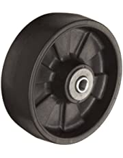 RWM Casters PNR-0620-08 6-Inch Diameter X 2-Inch Width Pinnacle Thermoplastic Wheels with Straight Roller Bearing, 1200-Pounds Capacity