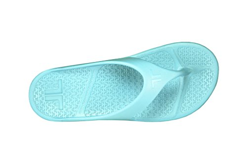 Telic Herrenmode Flip Flop Sandale (Made In USA) Aqua