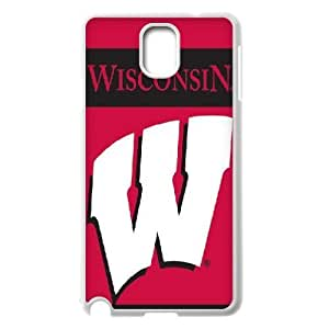 NCAA Wisconsin Badgers 2 Sided Garden Flag Samsung Galaxy Note 3 Cases, Tyquin - White