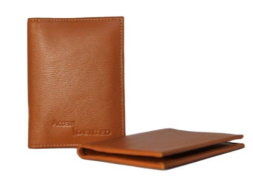 Access Denied Blocking Leather Pocket