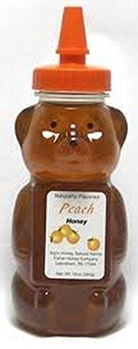 Oatmeal 12 Ounce Bottle (Fisher Peach Honey Bear ~ 12 Oz Bottle)