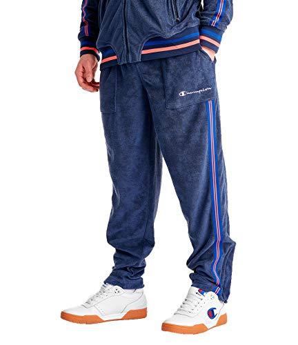 - Champion LIFE Men's Terry Warm Up Pant (Imperial Indigo, Large)