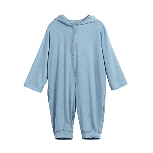 CKLV Interesting Romper Jumpsuit Outfits Clothes,Infant Baby Kids Dinosaur Hooded Romper Jumpsuit Outfits Clothes (Blue, 12-18 Months) by CKLV (Image #2)