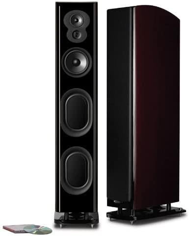 Polk Audio LSiM 705 Superior Floorstanding Tower Speaker | Dynamic Balance & PowerPort Technology | Bi-Wire & Bi-Amp | Single