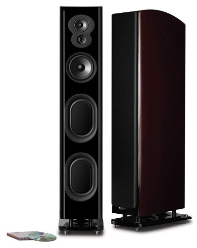 Polk Audio LSiM 705 Floorstanding Speaker (Midnight Mahogany, Each)