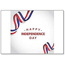 Happy France Independence Day classic fridge magnet