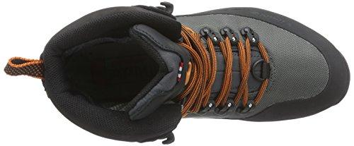 Material Viking sintético Zapatillas Gris de Black 7702 de y Adulto Senderismo GTX Gaupe Grau Charcoal Unisex Trekking Textile zqwrSOz