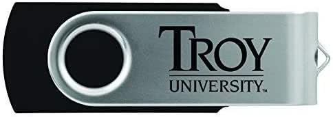 Inc LXG Troy University-8GB 2.0 USB Flash Drive-Black