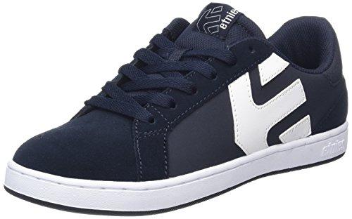 Chaussures Homme Fader Dark LS White Blue Skateboard Noir Bleu Etnies de F4ESwxXq