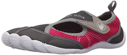 Der athletische Wasser-Schuh des Körper-Handschuh-Frauen-Horizontes GesamtEclipse / helle Rose