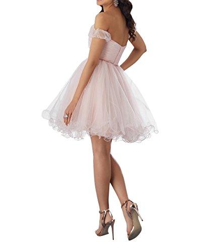 La Cocktailkleider Herzausschnitt Brau Violett Tanzenkleider Partykleider Kurzarm Mini Festlichkleider Abendkleider mia par6qxpn