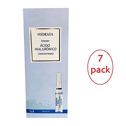 Deliplus Hyaluronic Acid Booster Concentrated 7 Blisters. Pack of 7 Units