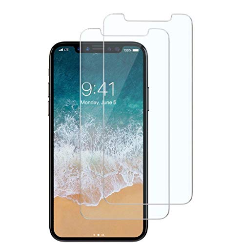 iPhone Xs x Tempered Glass Screen Protector 5.8 Inch (2-Pack)