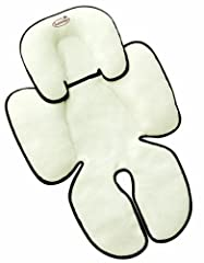 The Snuzzler® provides complete head and body support for your little one, adjusting length-wise as baby grows. The unique contours work well with most harness systems and support baby in car seats, strollers, jogging strollers, and swings. T...