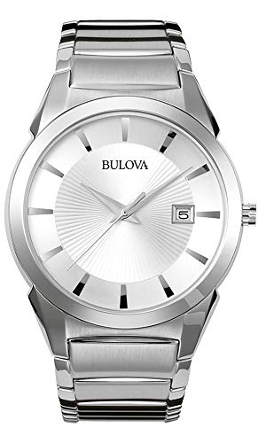 Bulova Men's Bracelet Calendar Dress Watch ()
