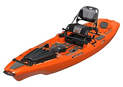 Bonafide SS127 Ultimate Sit on Top Fishing Kayak With Built in Storage, HiRise Seat, Hybrid Cat Hull Design For Maximum Stability Free Three Belles Outfitters Performance T-Shirt