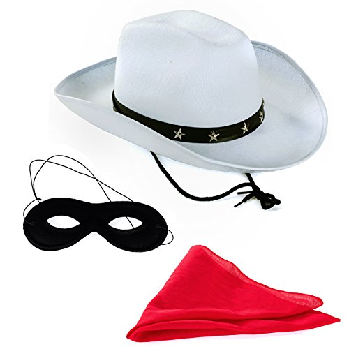 Tigerdoe Texas Ranger – 3 Pc Set - Masked Ranger - Western Costume - Wild West Costumes