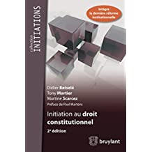 Initiation au droit constitutionnel (Initiations) (French Edition)