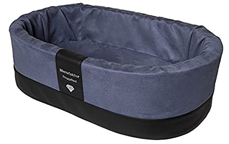 DoggyBedš ortopédica Perros Cesta cestos de Cama para Perros Perros Estable Top para Cachorros en Azul: Amazon.es: Productos para mascotas