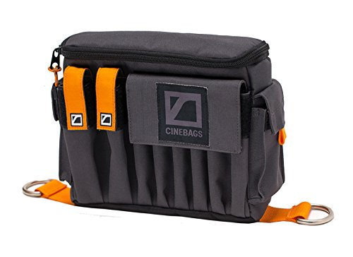 CineBags CB07 AC POUCH XL (Charcoal/Black) by CineBags