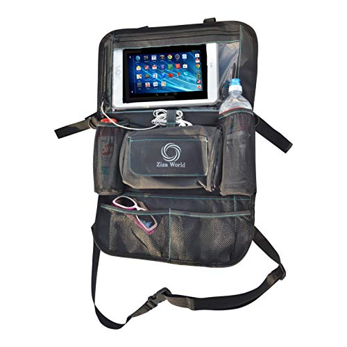 Ziza World Backseat Car Organizer with Tablet Holder