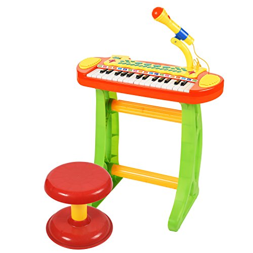 BAOLI 31 Keys Children Musical Toys Electronic Organ keyboard piano with Karaoke recording transmit