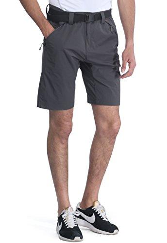 MIERSPORTS Lightweight Men's Cargo Shorts Water