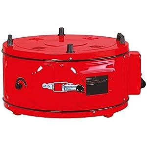Forno elettrico turco rotondo rosso, forno marocchino, forno per pizza, forno a pane, con termostato da cucina per…
